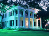 The Governor's Mansion is Shown August 30, 2000, in Austin, Texas Fotoprint van Harry Cabluck