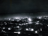 Dundee at Night, April 1935 Photographic Print