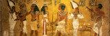 King Tut Tomb Wall, Egypt Fotografisk tryk af Kenneth Garrett