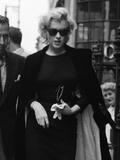 Marilyn Monroe in London, 1956 Fotografisk tryk