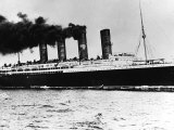 The Liner Lusitania was Torpedoed off the Old Head of Kinsale Ireland on 7th May 1915 Photographic Print