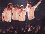 Take That Bow out at Brit Awards 2005 Photographic Print