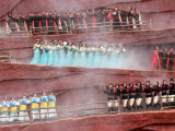 Chinese Performers Dance in the Folk Musical Impression of Lijiang Photographic Print