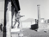 Ruins of Pompeii, Southern Italy, Covered by Ash after Mount Vesuvius Erupted in AD79, Dec 1957 Photographic Print