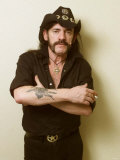 Lemmy of Motorhead, October 2002 Lámina fotográfica