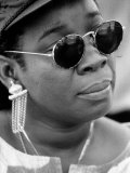 Rita Marley, Wife of Reggae Legend Bob Marley Lmina fotogrfica