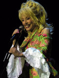 Dolly Parton at the Clyde Auditorium, November 2002 Photographic Print