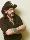 Lemmy of Motorhead, October 2002 Photographic Print