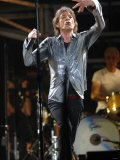 Mick Jagger in Action at Rolling Stones in Concert at Twickenham, August 2006 Photographic Print