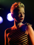 Shirley Manson Onstage at Liquid Rooms in Edinburgh April 2002 Photographic Print