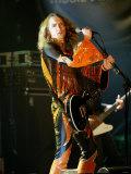 Mercury Music Awards September 2003. the Darkness Frontman Justin Hawkins at the Grosvenor Hotel Fotografie-Druck