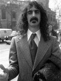 Frank Zappa at Court Over a Conert Cancellation Fotografisk tryk