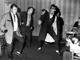 Teddy Boys Bopping Away at the Fforchneol Arms Photographic Print