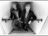 Simon le Bon and Nick Rhodes of Duran Duran Backstage at the Jay Leno Show, La. October 2004 Photographic Print