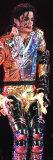 US Pop Megastar Michael Jackson Sings in the Czech Capital Prague Photographic Print