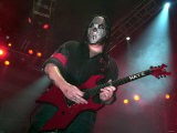 Guitarist &quot;Seven&quot; of Slipknot in Concert at the NEC, Birmingham Fotografie-Druck
