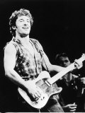 Bruce Springsteen, Rock Singer, 1985 Photographie