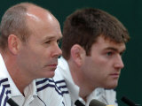 British Lions Photocall: Manager Clive Woodward, Capt. Michael Owen and V. Capt. Jonny Wilkinson Photographic Print