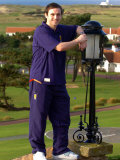 James McFadden at the Scotland Teams' Get-Together at Turnberry, February 2007 Photographic Print