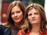 Trinny Woodall and Susannah Constantine in Central London to Promote Book and Television Series Photographic Print