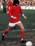George Best Manchester United Football. Tottenham V Manchester United Photographic Print