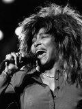 Tina Turner Singer in Concert 1987 Fotografisk tryk