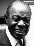 Louis Armstrong Jazz Trumpeter, 1970 Photographic Print