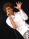 Mika at the Glastonbury Festival June 2007. Glastonbury Festival Photographie