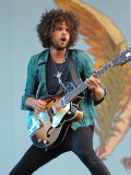 Andrew Stockdale, Lead Singer with Wolfmother on Stage at the 2007 Isle of Wight Festival Photographie