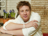 TV Chef Jamie Oliver Photographic Print