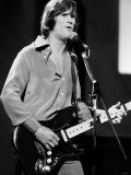 Kris Kristofferson Country Singer and Actor on Stage 1978 Photographic Print