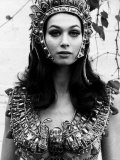 Actress Valerie Leon in a Scene from the Hammer Horror Film Blood from the Mummy's Tomb, 1971 Photographic Print