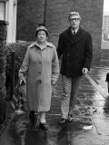 Actor Michael Caine and Mother February 1964 Photographic Print