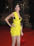 Amy Winehouse Arrives at the Brit Awards 2007 Fotografisk tryk