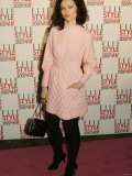 Sophie Ellis Bextor Arrives at the Elle Style Awards at the Roundhouse, London. February 2007 Fotografie-Druck
