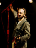 Pete Townshend Lead Guitarist of the Who Photographic Print