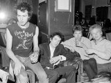 Sex Pistols Punk Rock Band in a London Pub c.1976 Fotografisk tryk