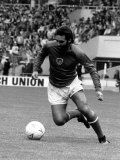 George Best 1986 Veterans Football Match Wembley Photographic Print