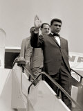 Cassius Clay May 1966. Arrived in London For a Title Fight. Muhammad Ali Photographie