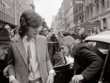 Lead Singer of the Rolling Stones Mick Jagger and Girlfriend Marianne Faithfull at Court Photographic Print