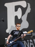 Barry Fratelli, of the Fratellis on Stage at the 2007 Isle of Wight Festival Photographic Print
