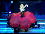Pop Singer Kylie Minogue Performing Live on Stage During a Concert at Hammersmith Apollo Photographic Print