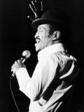 Sammy Davis Junior Jnr American Singer Actor on Stage in March 1982 Fotografie-Druck