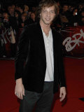 James Morrison Arrives at the Brit Awards 2007 Photographic Print