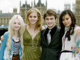 Harry Potter and the Order of the Phoenix, the Lastest Movie in the Series Fotografisk tryk