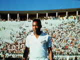 Pele Santos Football Club Fotografisk tryk