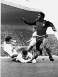 Football World Cup 1966 Portugal 3 Hungary 1. in Manchester Photographic Print