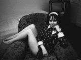 Actress Wendy Padbury Played Doctor Who Companion Zoe Herriot, 1968 Fotografisk tryk