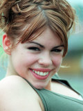 Portrait of Pop Singer Billie Piper. June 1998 Fotografisk tryk