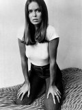 Actress and James Bond Girl Barbara Bach 1976 Photographie